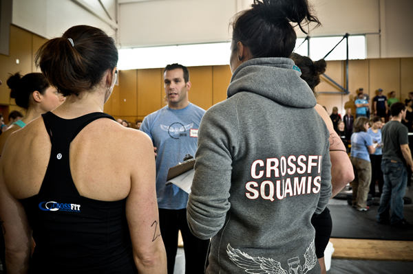 Crossfit Squamish Sectional Qualifiers
