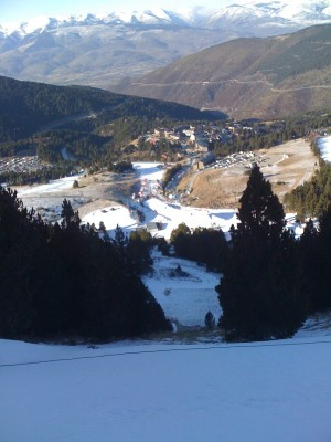La molina slopestyle course