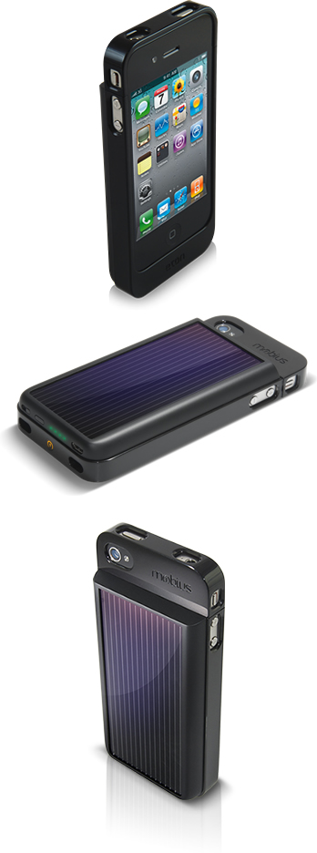 Mobius charger for iphone 4 by eton