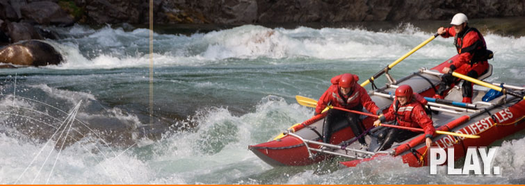 River Rafting Clearwater River