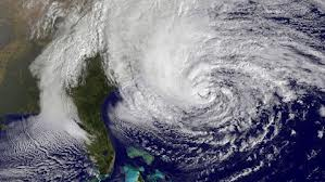 hurricane sandy sat image
