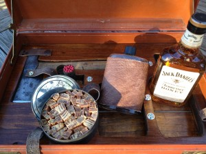gentleman's survival kit Detail
