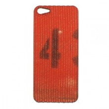 Red Reclaimed firehose Iphone Cover