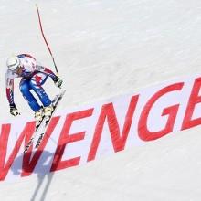Wengen Jump Johan Clarey