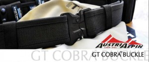 GT cobra buckle polymer buckle with web belt