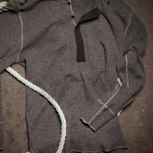 Railtown 100% wool sweater by sitka