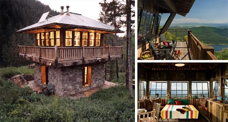 Look Out Old Fire Towers Into Modern Mountain Homes Designs