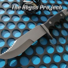 The Abyss Coffee Navy Seal Knife