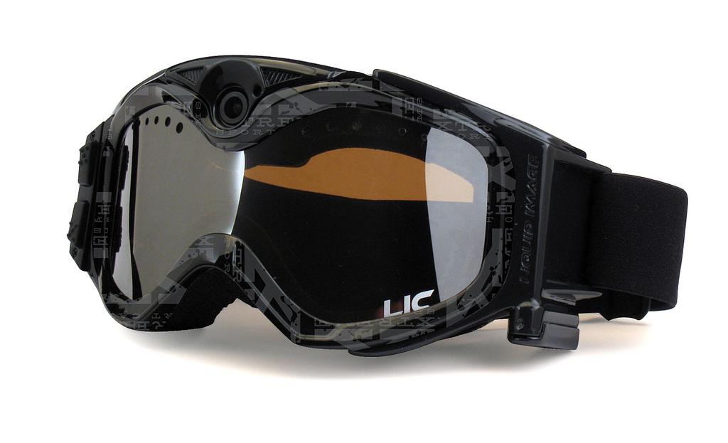 Liquid Imageco Summit 1080p integrated camera goggle-black