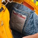 firefighter turnout jacket bag inside detail