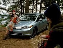 honda civic date with a woodsman