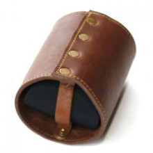 Leather Koozie Leather, Neoprene