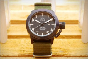 human_time_project_watch green nato strap