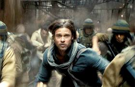 World War Z Brad Pit with Shemagh