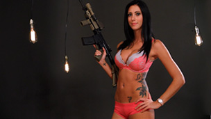 Clean an AR-15 with Ashley