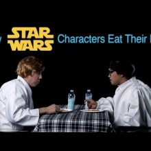 How star wars characters eat their food