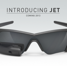 Jet recon instruments HUD glasses
