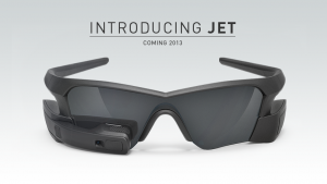 Jet recon instruments HUD glasses