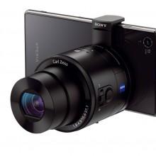 "Sony-Cyber-shot-QX100-Premium-""Lens-style-Camera"""
