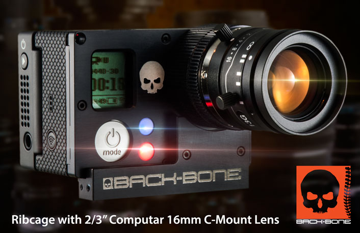 back bone mod kit with c mount lens